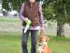 Laurie Rossi Sherick and Nova Scotia Duck Tolling Retreiver