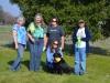 Tracklayer Darlene Hernandez, Judge Kyla Smay, Dog Owner Janet Bennett, Dee Dee Anderson, Judge Meg Azevedo